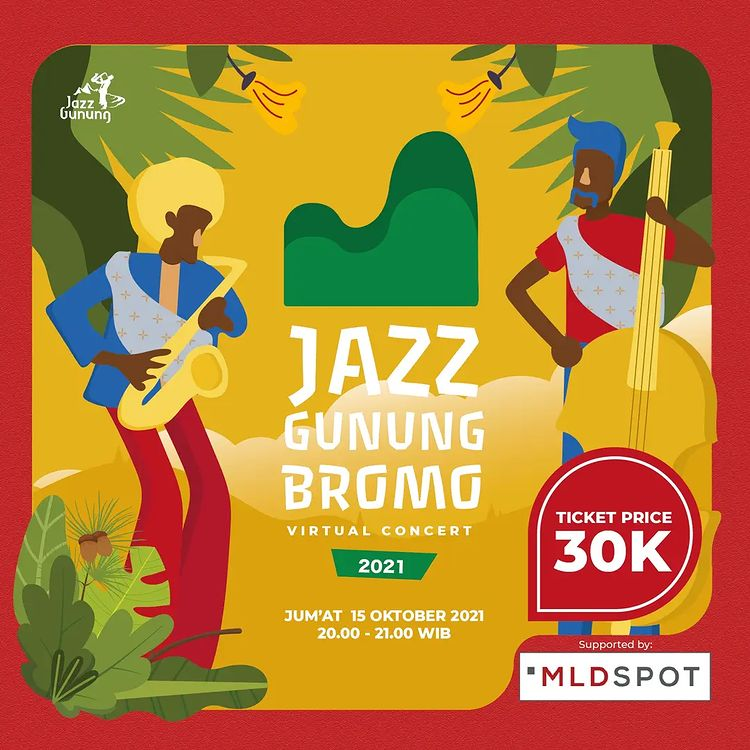 Jama'ah Al Jazziyah! Terlewat Nonton Jazz Gunung Bromo 2021 Ini Caranya..