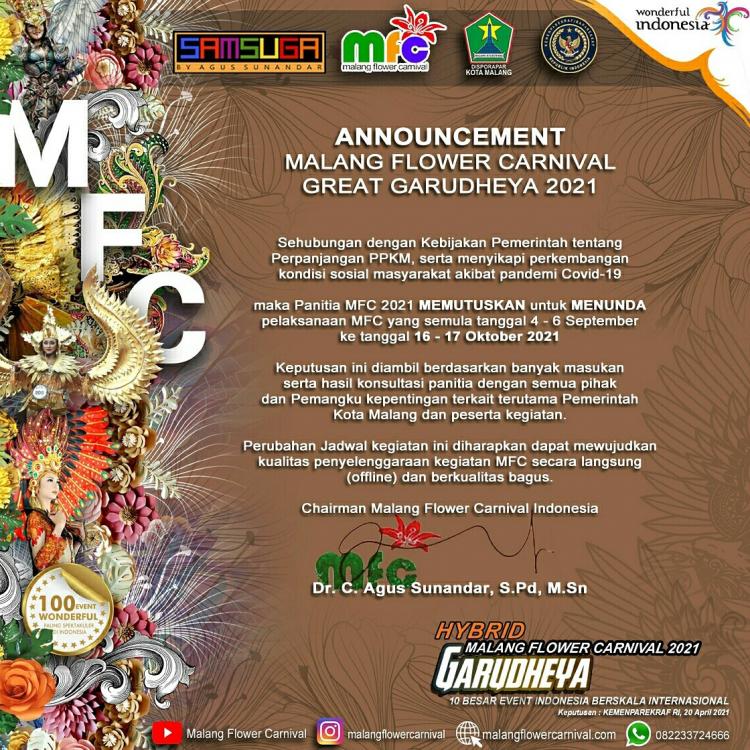 Malang Flower Carnival 2021