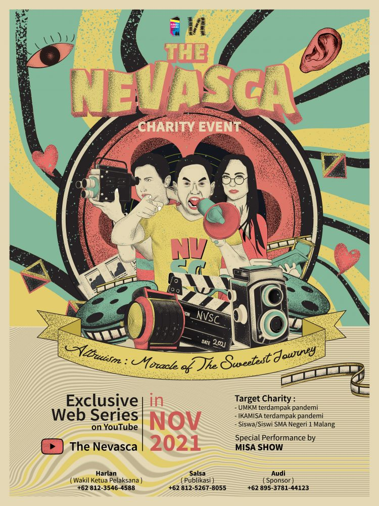 The Nevasca 2021 Miracle Of The Sweetest Journey Sman 1 Malang