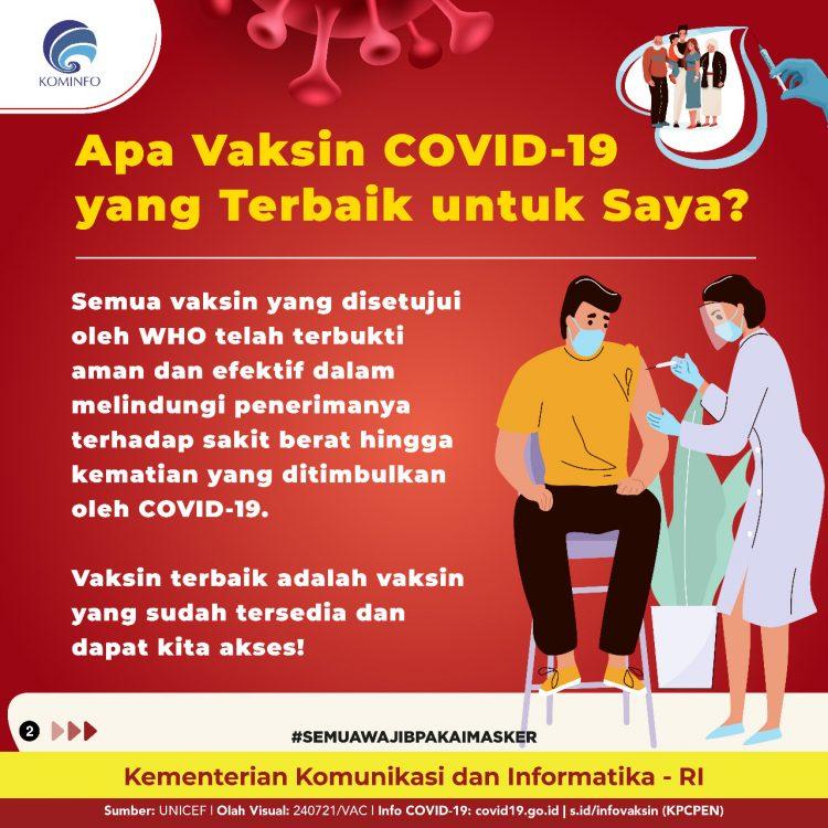 Apa Vaksin COVID-19 yang Terbaik untuk Saya?