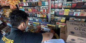 Bea Cukai Jatim II Amankan 2,5 Juta Batang Rokok Ilegal