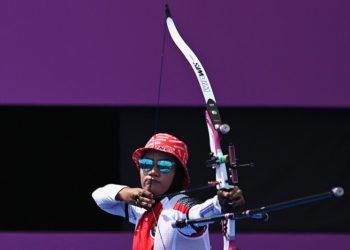 Diananda dan Bagas terhenti di babak pertama panahan Olimpiade Tokyo