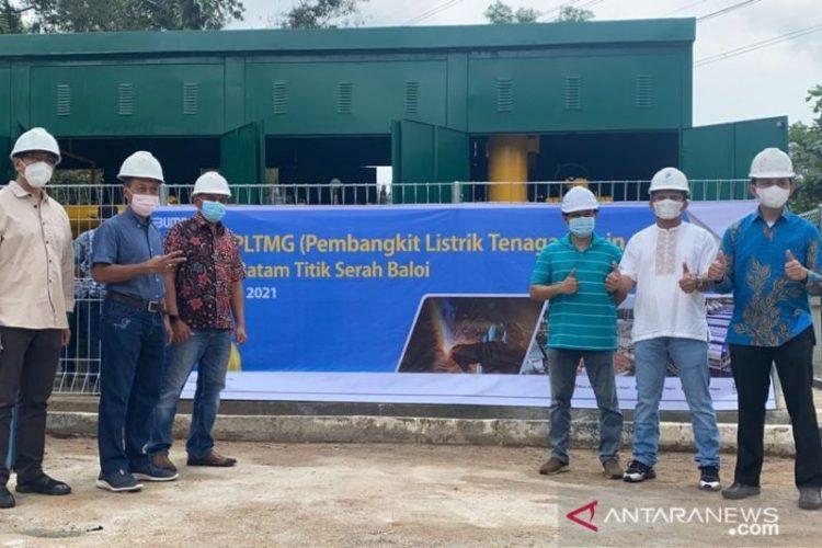 Dukung listrik Batam-Bintan, PGN penuhi kebutuhan gas PLTMG Baloi