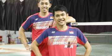 Fajar/Rian bawa Tim Indonesia melenggang ke final Piala Thomas