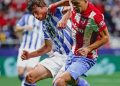 Hasil Liga Spanyol Atletico Madrid vs Real Sociedad: Suarez Penyelamat