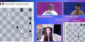Hou Yifan Challenge 2: Praggnanandhaa makes it 9/9!