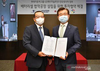 Hyundai dan LG akan bangun pabrik baterai di Karawang