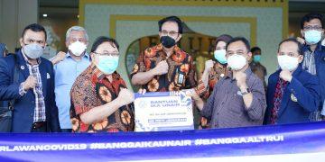 IKA UA Beri Bantuan 150 Peti Jenazah untuk Enam RS di Jatim