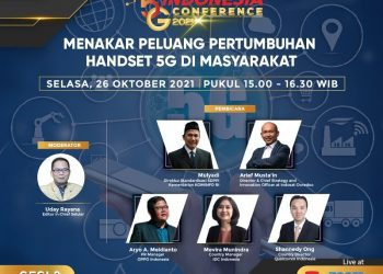 Indonesia 5G Conference: Menakar Peluang Pertumbuhan Handset 5G di Masyarakat - Selular.ID