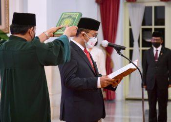 Ivan Yustiavandana Resmi Menjabat Kepala PPATK