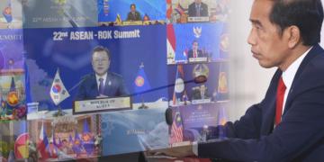 Jokowi sebut potensi ekonomi digital dan hijau ASEAN - Korea besar - ANTARA News