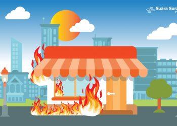 Kebakaran Rumah di Dukuh Kupang, Diduga Akibat Konsleting Listrik