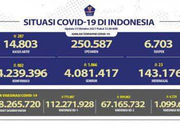 Kesembuhan COVID-19 Bertambah Mencapai 4.081.417 Orang - Berita Terkini