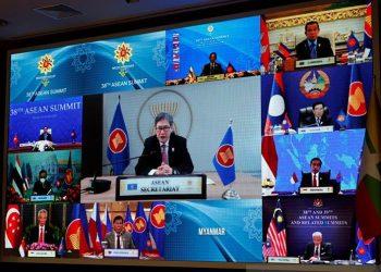 KTT ASEAN Berjalan Tanpa Myanmar