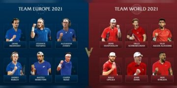 Laver Cup 2021: Tim Europe vs Tim World, Siapa Bakal Berjaya?