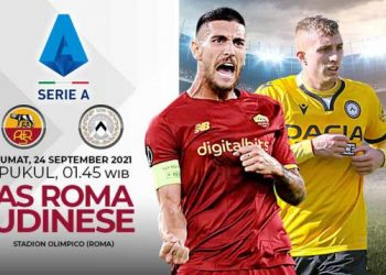 Link Live Streaming Liga Italia: AS Roma vs Udinese