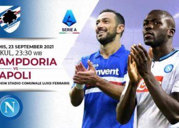 Link Live Streaming Liga Italia: Sampdoria vs Napoli
