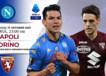 Link Live Streaming Pertandingan Liga Italia: Napoli vs Torino