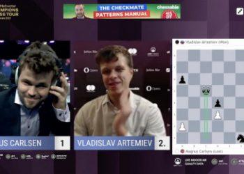 MCCT Finals 4: Artemiev takes down Carlsen