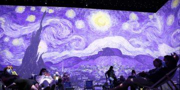 "Pameran ""Van Gogh : The Immersive Experience"" dibuka untuk publik"