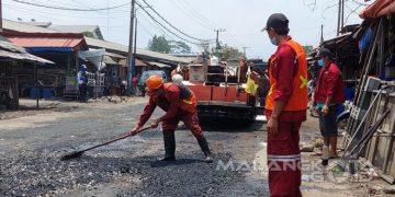Pemkot Malang Benahi Jalan Pasar Gadang - Pemerintah Kota Malang