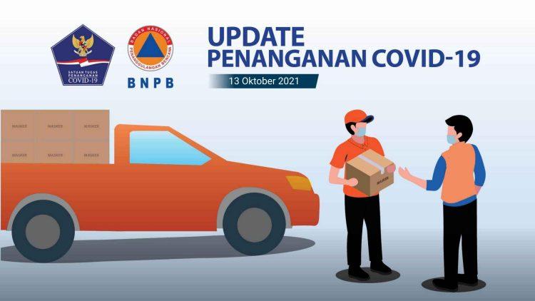 Percepatan Penanganan COVID-19 di Indonesia (Update per 13Oktober 2021) - Berita Terkini