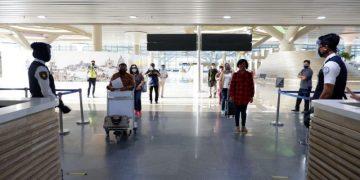 Pergerakan penumpang di Bandara YIA Kulon Progo naik 21,43 persen