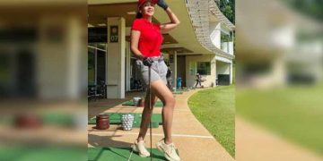 Pose Panas-panasan Saat Golf, Diah Permatasari Banjir Pujian Netizen