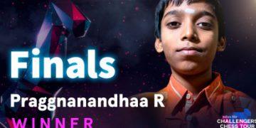 Praggnanandhaa wins Challengers Chess Tour with stunning 8.5/9