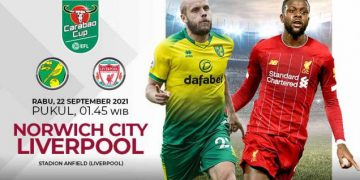 Prediksi Carabao Cup Norwich City vs Liverpool