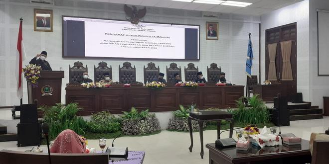 Ranperda APBD Tahun 2022 Disetujui DPRD - Pemerintah Kota Malang