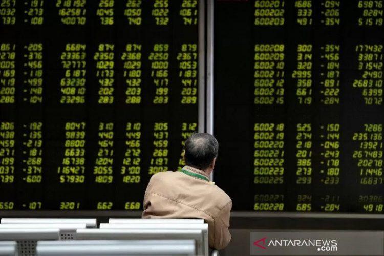 Saham China ditutup naik, ditopang menguatnya perdagangan domestik