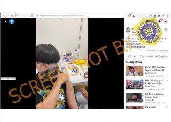 [SALAH] 600 Pelajar China Diberikan Vaksin Kosong di DKI Jakarta