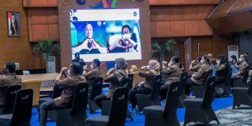 Siaran Pers: ASN di Lingkungan Kemenparekraf Diharapkan Selalu Optimis Bangkit dari Pandemi - PEDULI COVID19