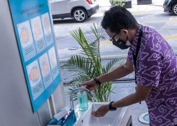 Siaran Pers : Bioskop Kembali di Buka, Menparekraf Tinjau Penerapan Prokes di Epicentrum XXI Jakarta - PEDULI COVID19