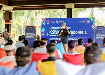 Siaran Pers: Menparekraf Dorong Pengembangan Subsektor Seni Pertunjukan Jadi Andalan di Gianyar Bali - PEDULI COVID19