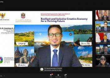 Siaran Pers: Menparekraf: Ekonomi Kreatif Adalah Penggerak Baru Ekonomi Dunia - PEDULI COVID19