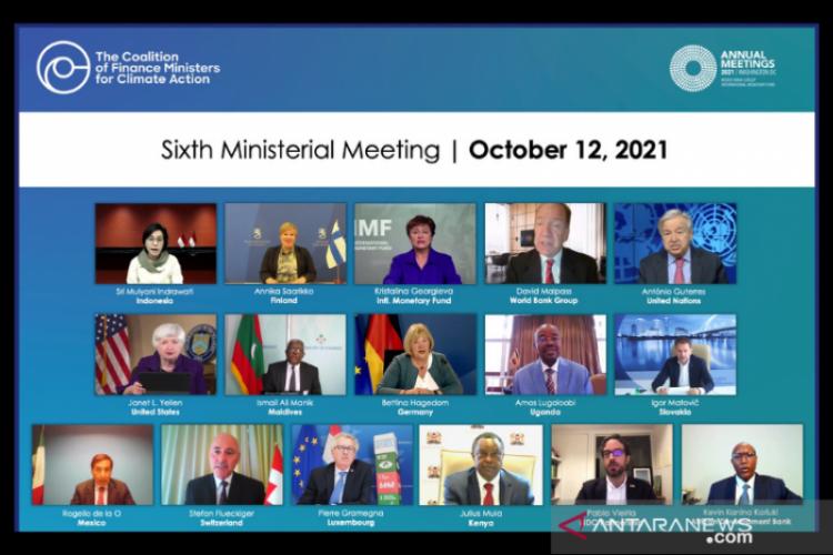 Sri Mulyani: Pendekatan multilateral penting dalam perubahan iklim