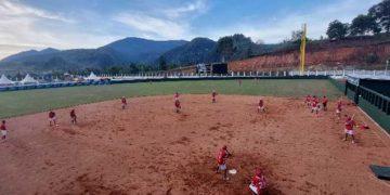 Tim Softball DKI Jakarta dan Banten Jajal Venue PON Papua