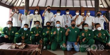 Wali Kota Sutiaji Apresiasi Prestasi Atlet PON XX Papua - Pemerintah Kota Malang