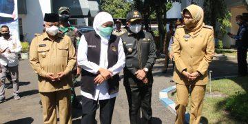 Walikota Sutiaji Apresiasi Peresmian Tempat Isi Ulang Oksigen Gratis Bakorwil Malang