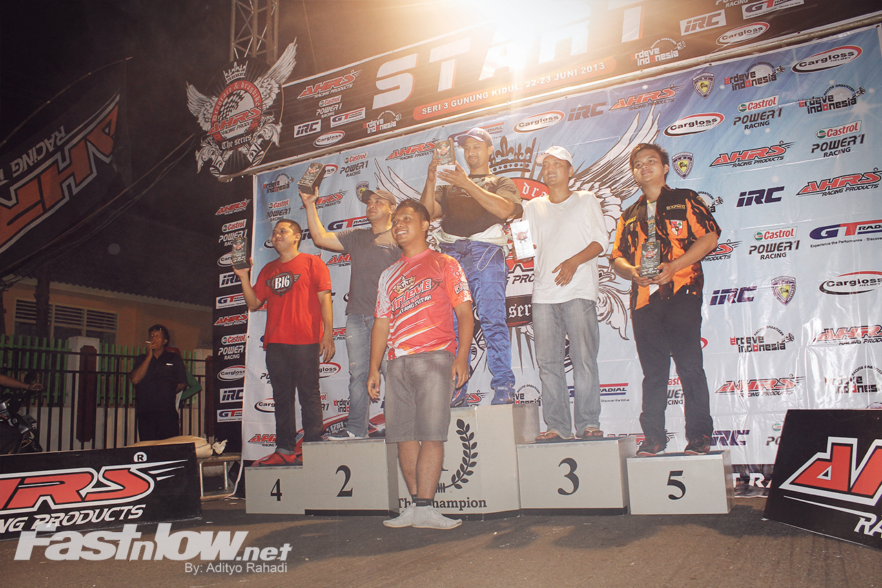 Pemenang AHRS Drag Race