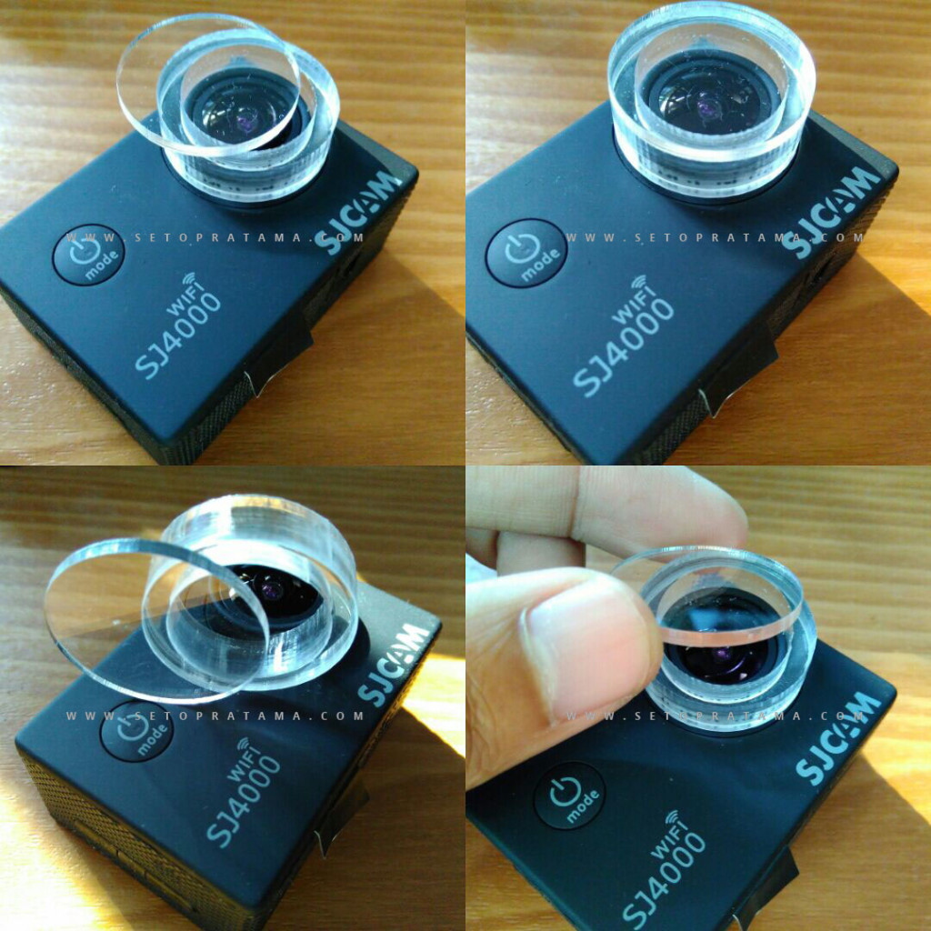 Filter Pengaman Lensa SJCAM